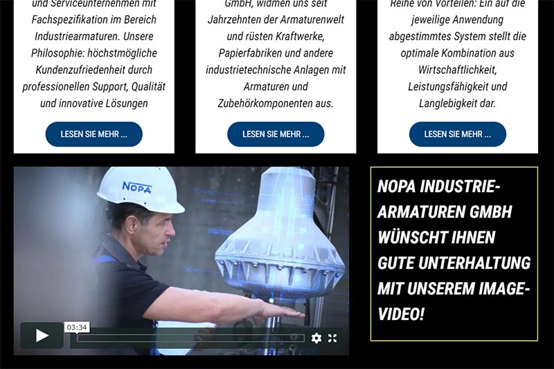 NOPA Industries Video Website KORA Media